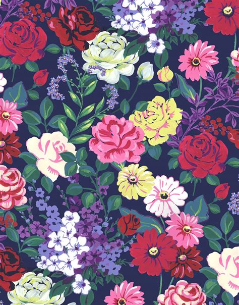 floral prints blanketstitch designs painterly floral