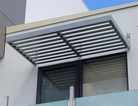 Metal Awnings For Windows by Aluminum Window Slatted Aluminum Window Awnings