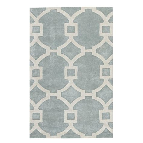 home decorators collection tufted white 8 ft x home decorators collection sawyer blue white 8 ft x 11 ft area rug 1605440340 the home