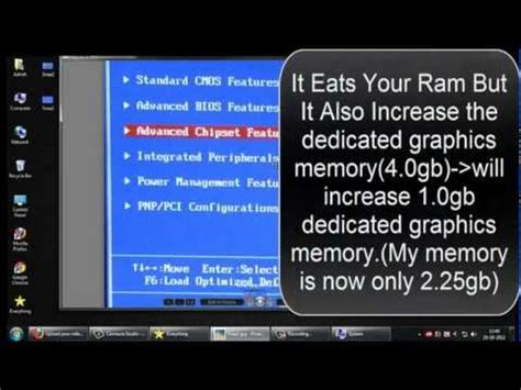 how to dedicate more ram how to increase your dedicated graphics memory