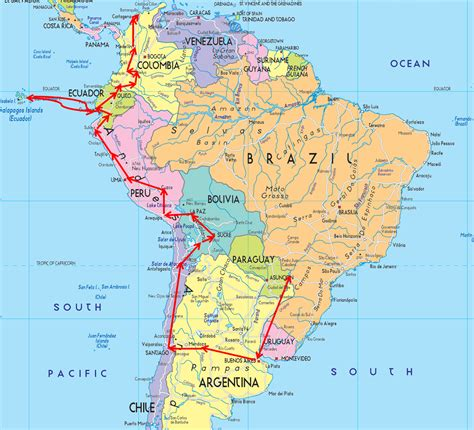 south america map directions maps update 10001148 south america travel map places