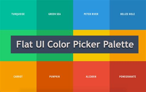 flat ui color flat ui color codes 187 webnots