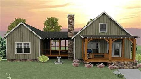 cabin floor plans with screened porch small house plans with screened porch small house plans