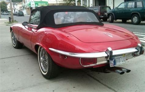E Type Jaguar Automatic by Sell Used 1974 Jaguar Xke Base 5 3l V12 Automatic Red