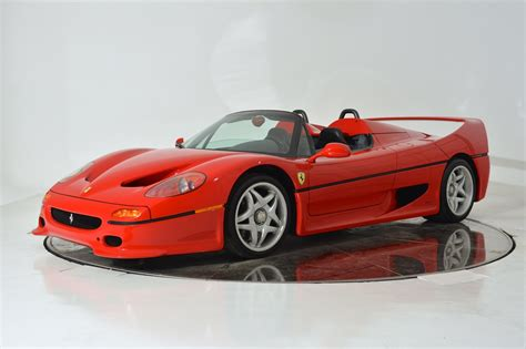 Ferrari F50 Convertible by How About A 2 6 Million Ferrari F50 Gtspirit