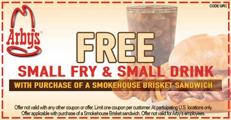 Latest Arby's Coupons December 2018 - BOGO and More! Arby S Coupons