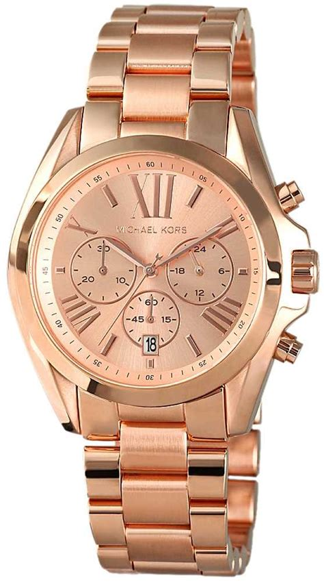 Micheal Kors Uhr michael kors damen uhr chronograph gold edelstahl