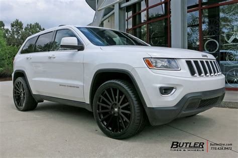 white jeep grand wheels jeep grand with 22in black rhino kruger wheels