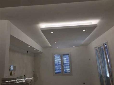 luce controsoffitto pareti di cartongesso