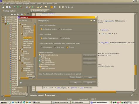 eclipse theme to netbeans nimrod look and feel