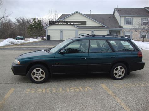 1999 subaru legacy wagon 1999 subaru legacy outback limited wagon 4 door 2 5l