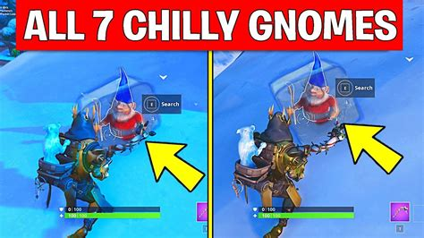 search chilly gnomes   locations week  challenges