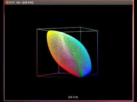 xyz color space color gamut cie xyz and cie rgb in opengl