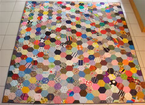 Hexagons Quilt Patterns by Charm Quilt Ufocoach