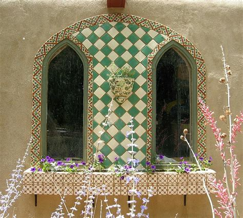 tile wall mural tile wall mural and planterbox by elljaye on deviantart