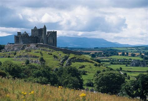 Painting A Dining Room by Rock Of Cashel Co Tipperary Ireland Landscape With The
