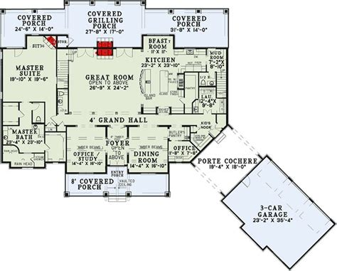 24x24 house plans houses plans plan 60651nd six bedroom house plan with style 2nd floor house plans and theater