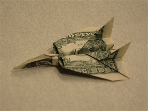 Dollar Origami Plane - pictures creative dollar bill origami amazing