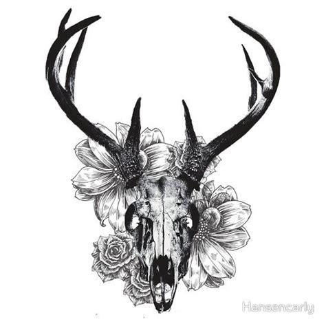 deer skull tattoo design 27 deer skull designs ideas