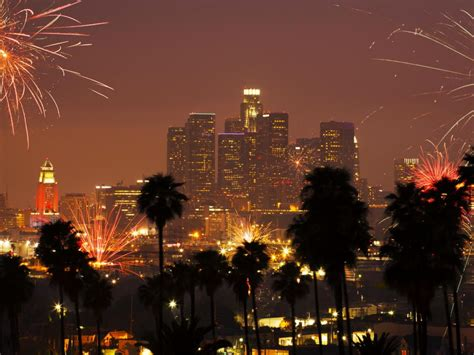 new year los angeles ca best us fireworks displays travel channel