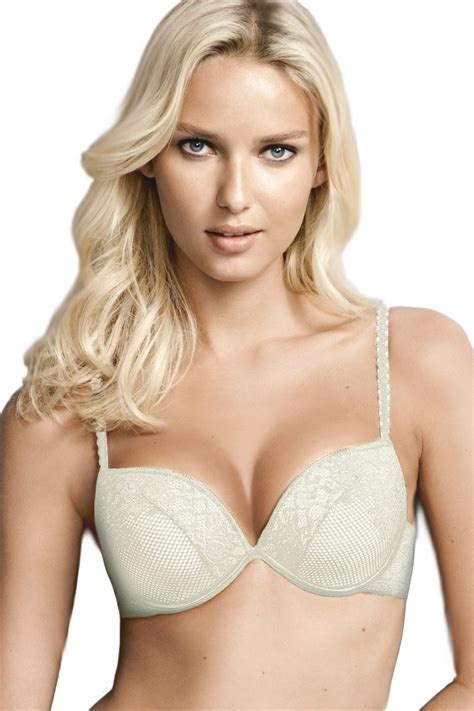 Push Up Bra Lace Premium By Voglia wonderbra effect lace bra w8174 2 sizes bigger padded