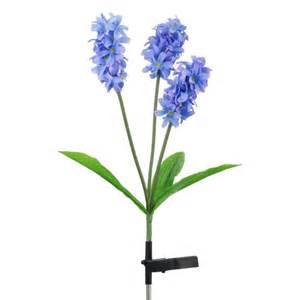 led garden solar lights solar flower light hyacinth flower 3led for garden fresh