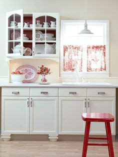 the red kitchen for the love of learning 1 2 price love the pops of red in this kitchen and nook seth model