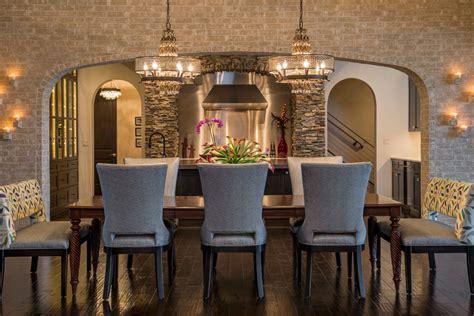 upholstered dining bench living room modern with artwork
