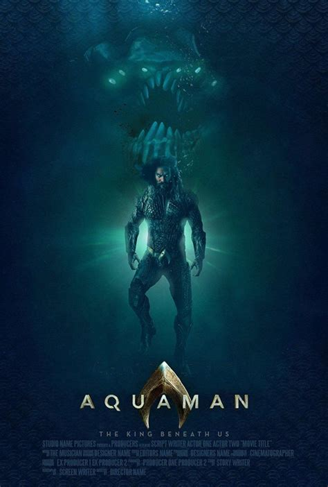 incredible fan poster  aquaman show  creatures