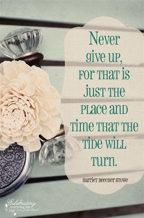 inspirational quotes about never giving inspirational quotes about giving up quotesgram