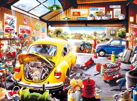 Sams Garage by Sam S Garage Jigsaw Puzzle Puzzlewarehouse