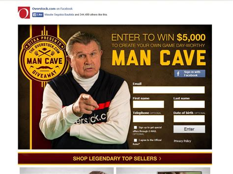 Man Cave Sweepstakes - overstock com man cave giveaway sweepstakes