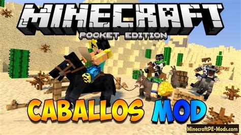 mods for minecraft pe android caballos mod for minecraft pe android 0 11 1