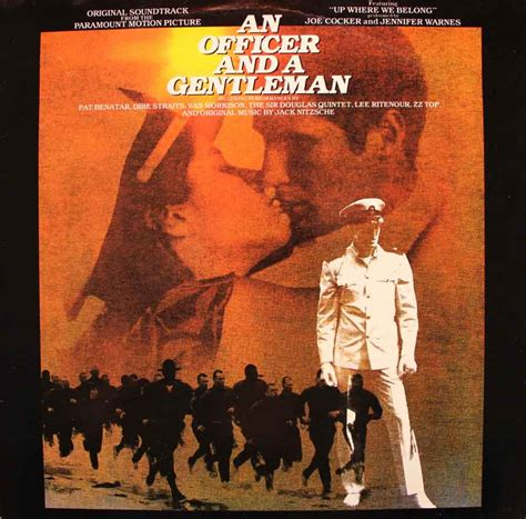 Officer And A Gentleman Soundtrack by An Officer And A Gentleman Soundtrack Vinyl Clocks