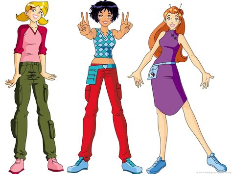 Clover Clothing Gamis Violla totally spies graphics picgifs