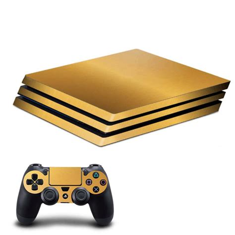 Ps4 Sticker Gold by New Gold For Ps4 Pro Skin Sticker For Sony Playstation 4