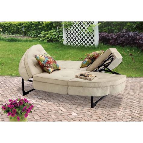 garden chaise better homes and gardens clayton court chaise lounge with