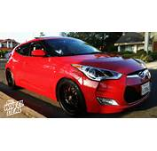 18&2158″ Kyowa Evolve Wheels In Matte Black On A 2012 Hyundai Veloster