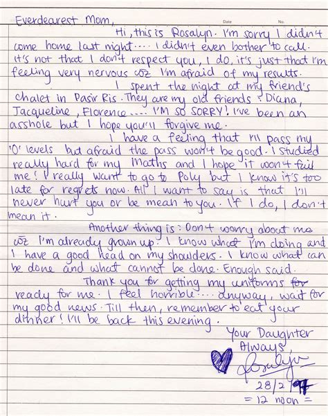 Best Apology Letter To My apology letter to levelings