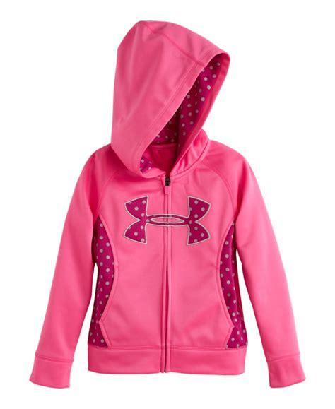 infant armour big logo dot zip hoodie ebay