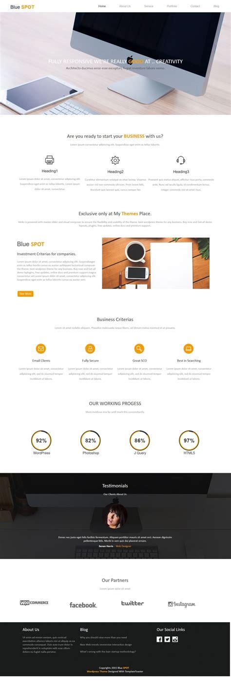 drupal themes web design blue spot web design studio drupal theme
