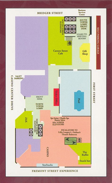 golden nugget floor plan map of golden nugget las vegas my blog