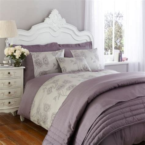 lilac and purple bedroom charlotte thomas antonia duvet cover in light purple grey