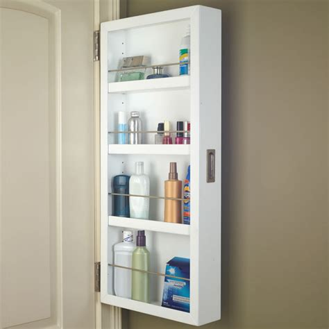 Bathroom Cabinet Door Storage Back Of The Door Cabinet The Green