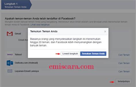membuat facebook baru sekarang cuma butuh waktu 5 menit cara membuat facebook baru