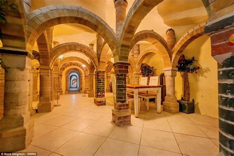 House Plans With Vaulted Ceilings by Bridgnorth Home Which Hides A Secret Cave Is Up For Sale