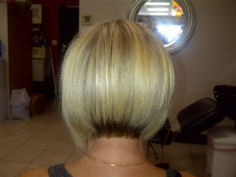 stacked a line haircut yelp a line bob with stacked back short hairstyle 2013
