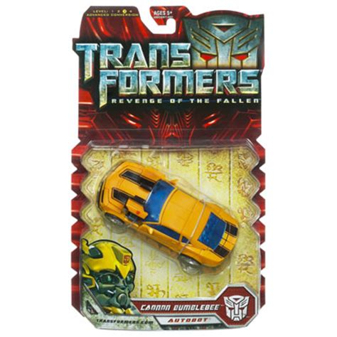 Figure Transformers Bumbleebee Canon Voyager Class Of The Fallen Cannon Bumblebee Review Bwtf