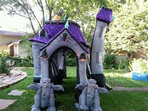 inflatable haunted house gemmy inflatable airblown haunted house