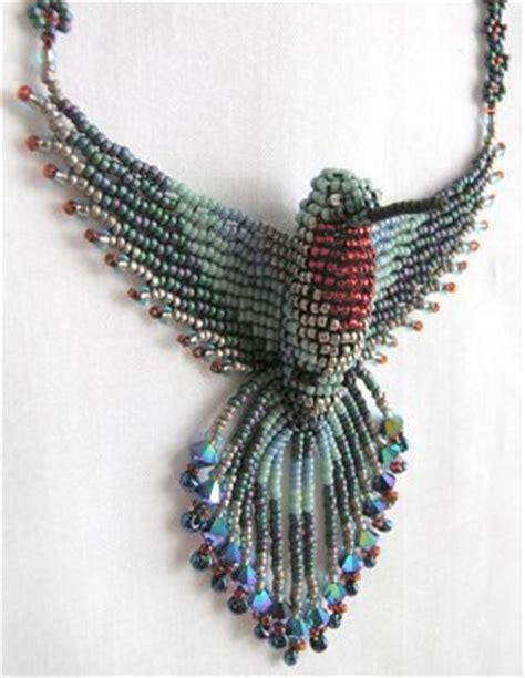 beaded bird pattern beadweaver beaded hummingbird